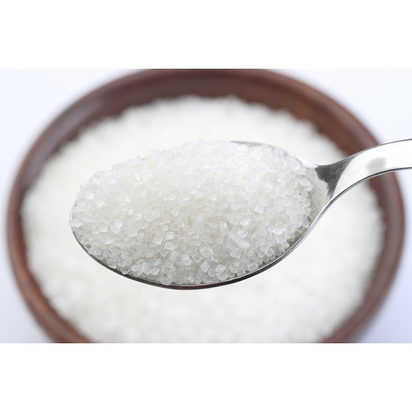 Store white sugar out of sight and you'll be less likely to consume too much of it.
