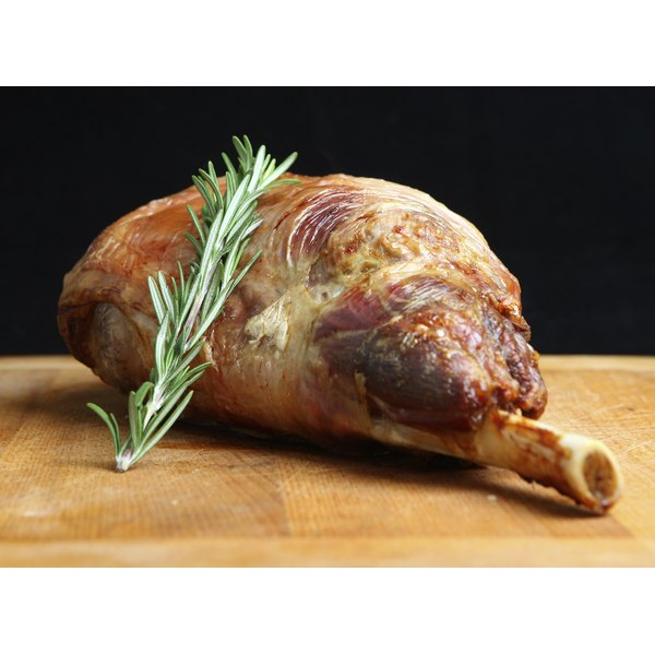 Enjoy roast lamb rare, medium or well-done.