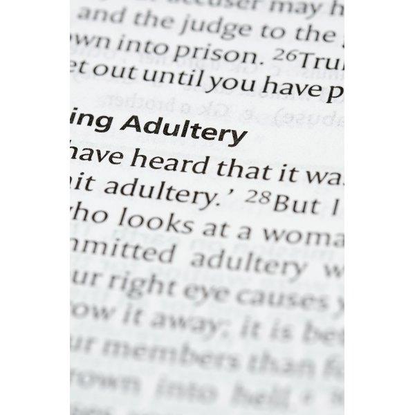 Does The Bible Say Anything About Forgiving Adultery -1692