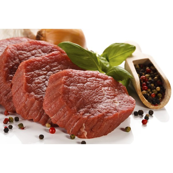 Red meat contains Vitamin B-12.