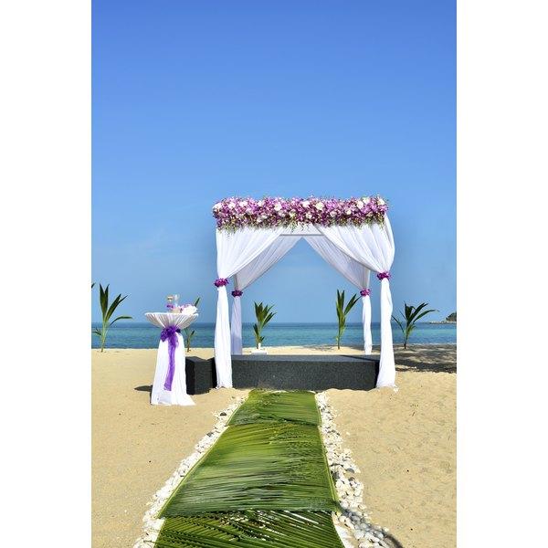 Sri Lankan beaches provide the ideal destination for a wedding.