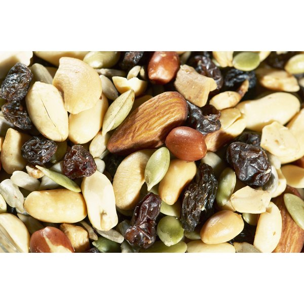 Oleic acid in nuts is a natural appetite suppressant.