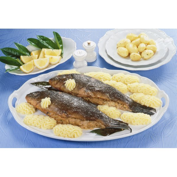 Fish is a good source of iron and vitamin B-12.