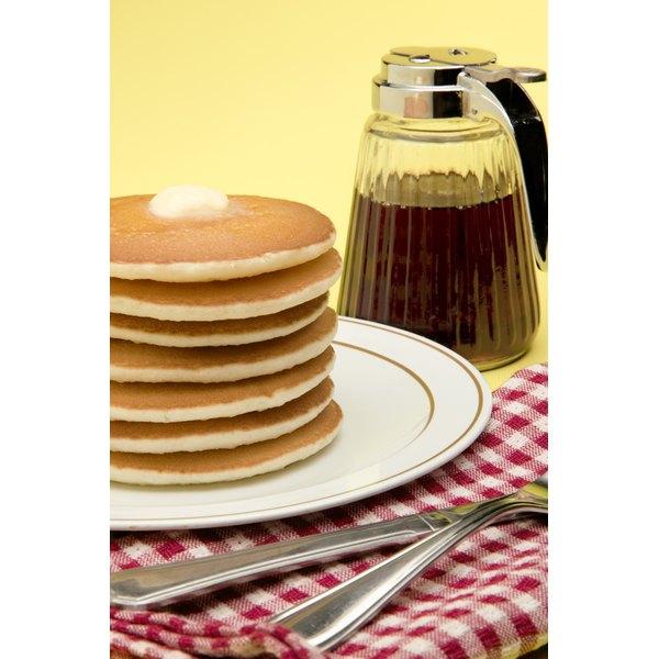 Pancake mixes provide quick, convenient and consistent pancakes.