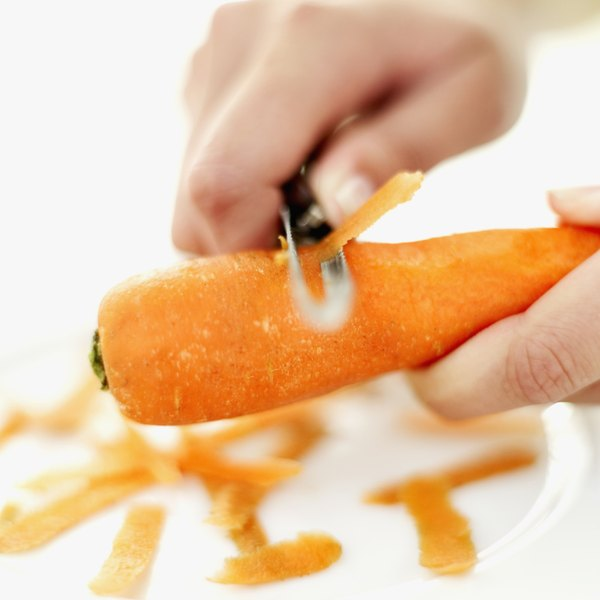 Carrots are a good source of vitamin A because they are rich in a carotenoid called beta-carotene.