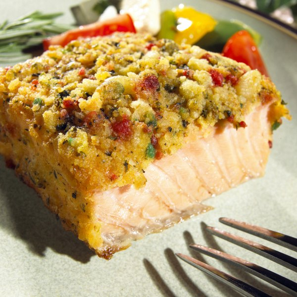 Fresh salmon is a source of essential fatty acids.