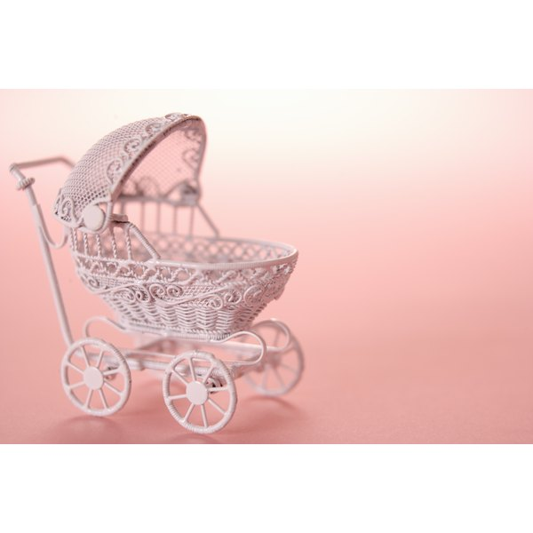 Utilize old-fashioned prams and poodles for decorations.