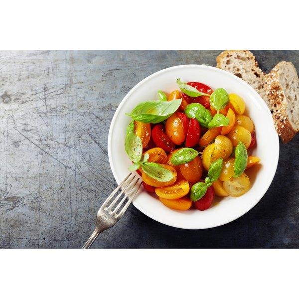 A bowl of steamed vegetables.