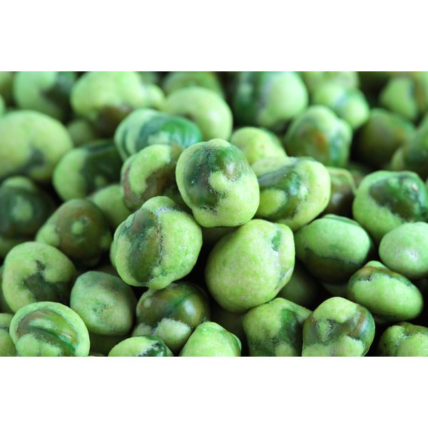 Crunchy, fiery wasabi-coated peas are a pleasantly addictive treat.