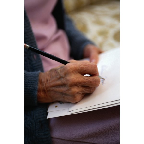 A handwritten letter provides a personal touch.