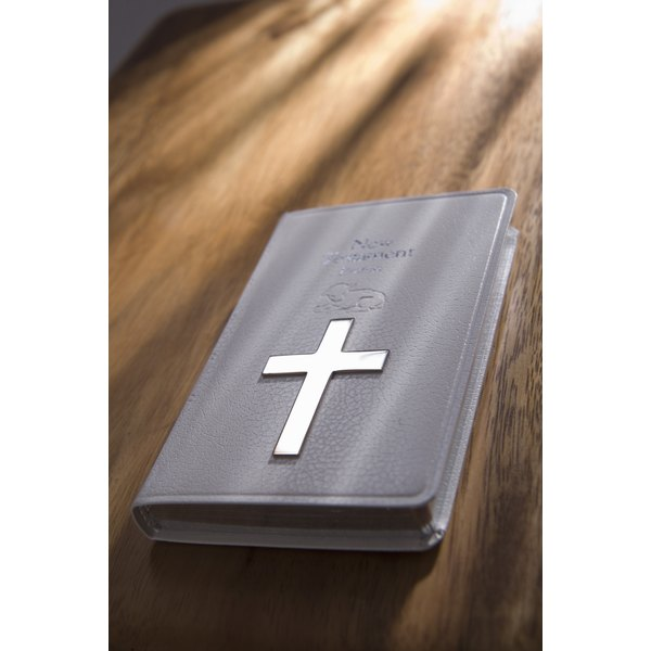A Bible cover would make a nice gift for confirmation.