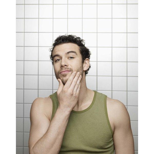 Lightly-applied beard gel keeps your beard neat.