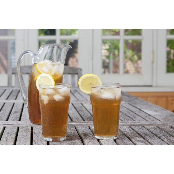 Add the frozen lemon cubes in iced tea for a fresh twist.