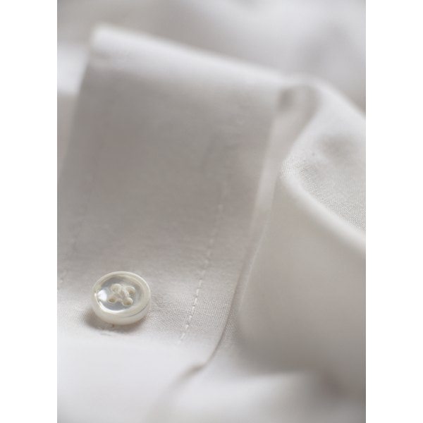 The left cuff is one of the most common spots for a monogram on a shirt.