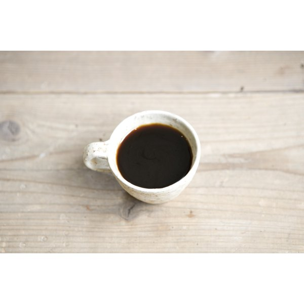 Small cup of coffee.