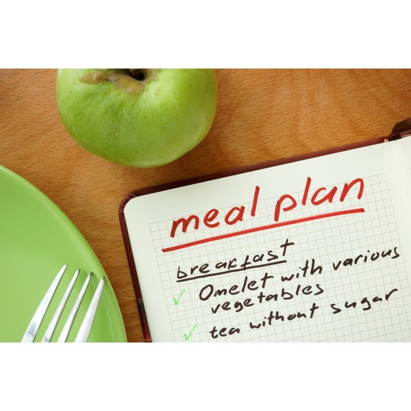 A healthy meal plan.