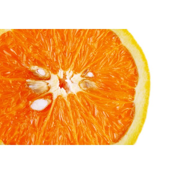 Oranges are a great source of vitamin C and a proven stress-buster.