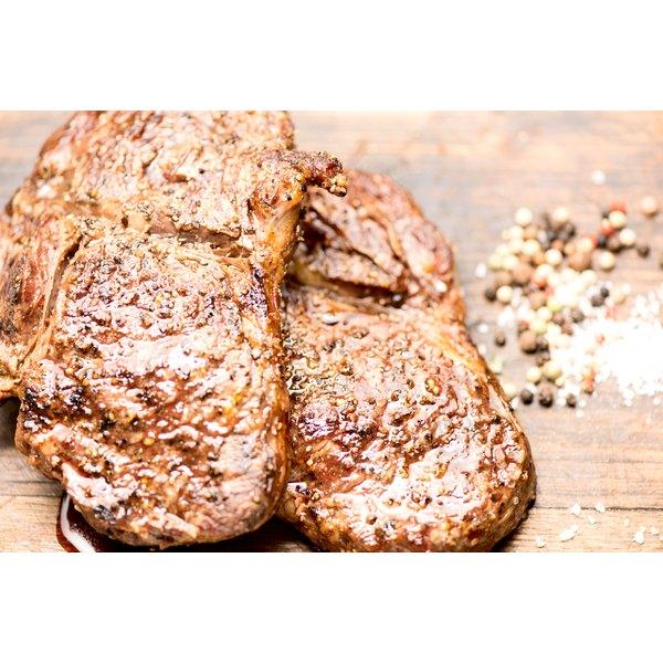 Beef tender roast on a chopping board.