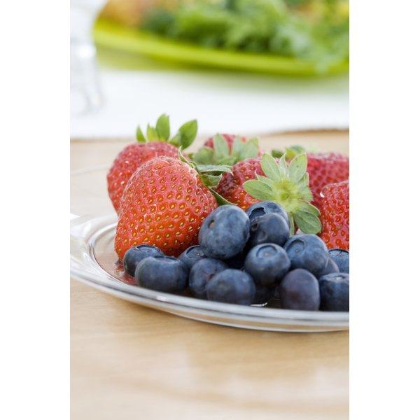Fresh fruit provides nutrition for your baby.