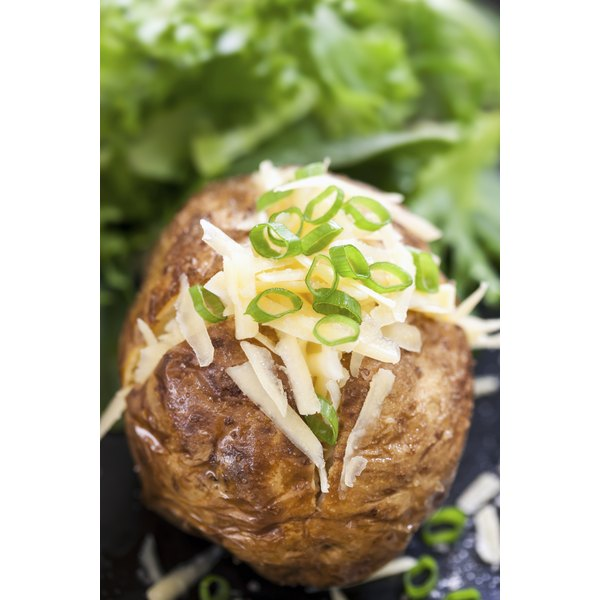 Skip the foil when baking potatoes to avoid potential health risks.
