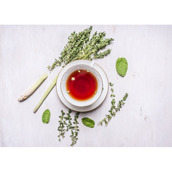 Herbal teas may reduce cold and allergy symptoms.