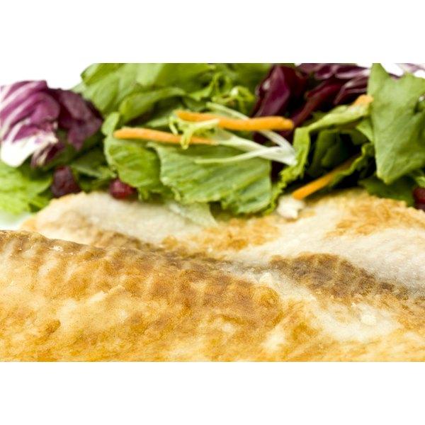Breaded mahi mahi.
