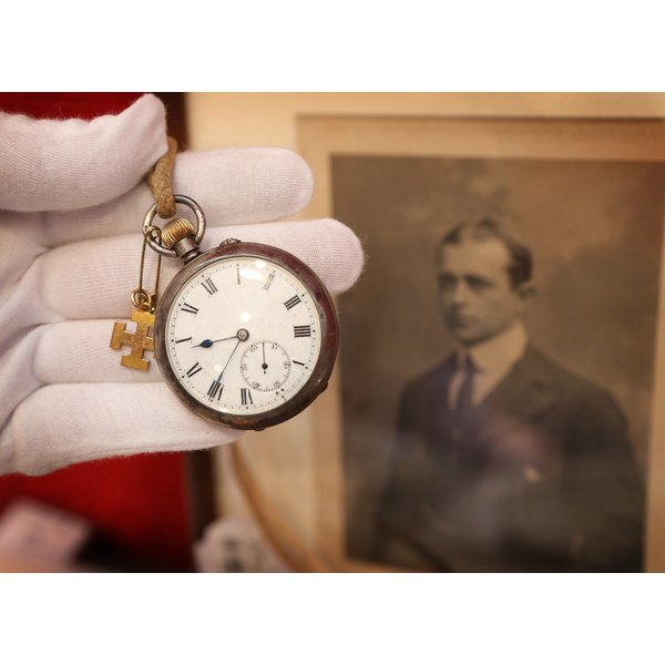 Pocket watch that once belonged to arctic explorer Captain Robert Falcon Scott