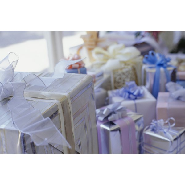Wedding gifts should never be expected or begrudged, especially for elopements or private ceremonies.