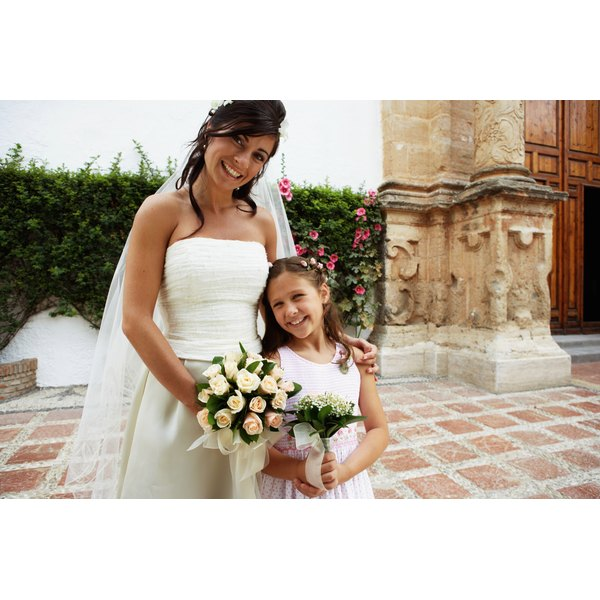 Give your stepchildren a role in the wedding ceremony.