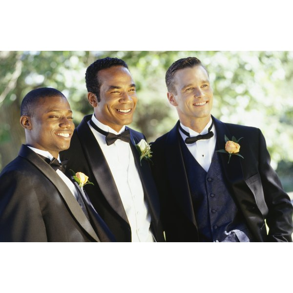 Buying a tuxedo is cost-effective if you frequently attend weddings.
