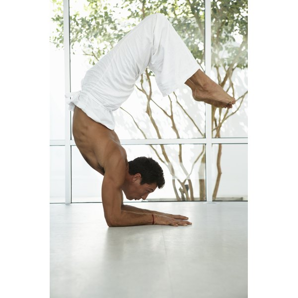 Use your forearms instead of your hands in yoga poses to relieve numbness and tingling.