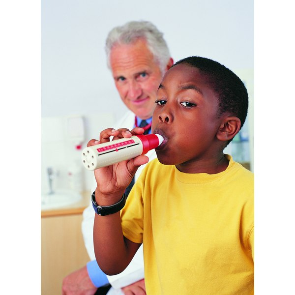 Spirometers provide information that may help treat respiratory disorders such as asthma.