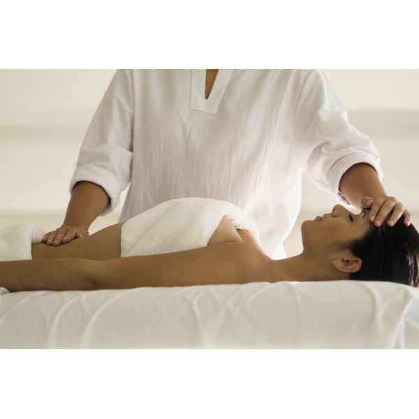 Generally, pure essential oils are best for breast massages.