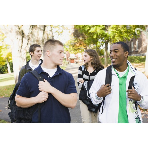 Peers can have a major influence on a teen's self-esteem.