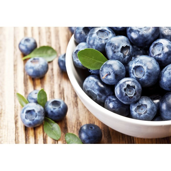 make antioxidant rich fruits like blueberries part of healthy diet
