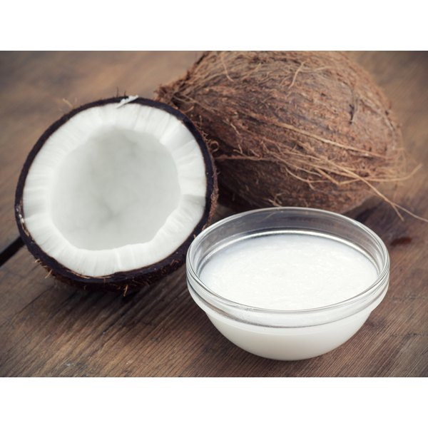 Coconut oil has some health benefits.