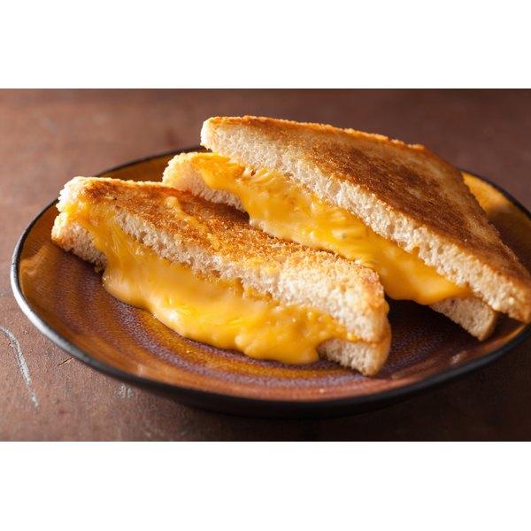 An American cheese slice.