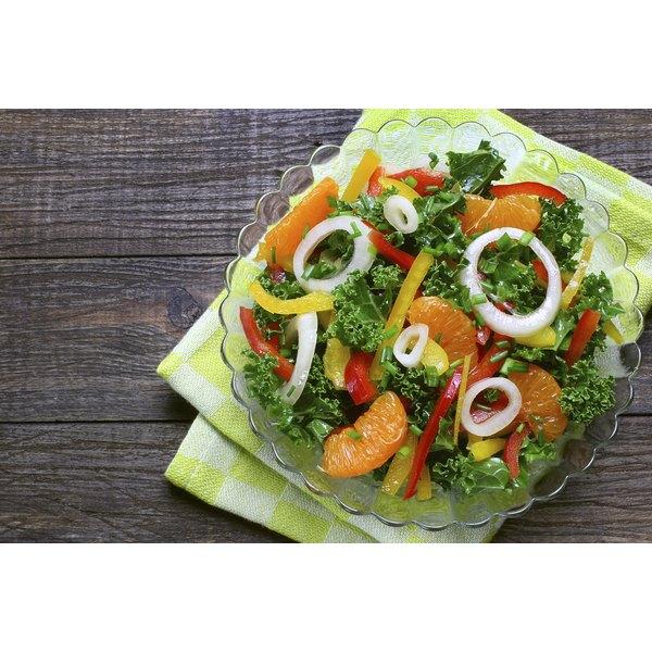 A fresh kale salad.