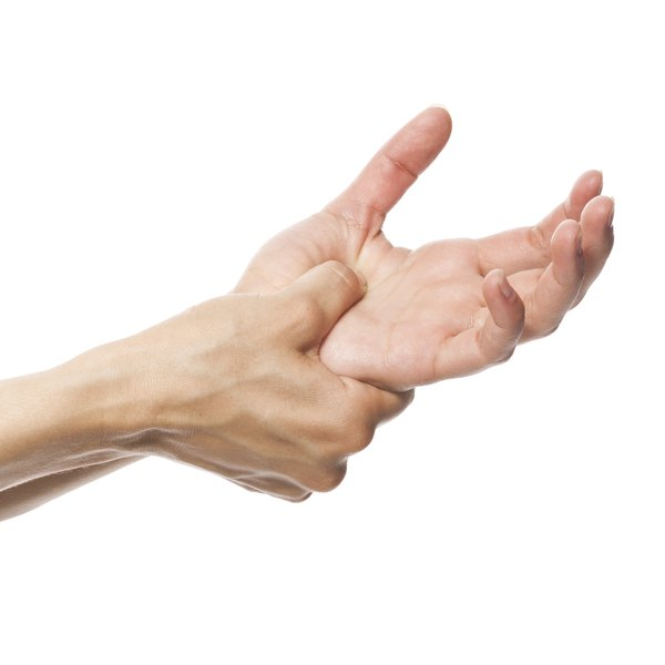 Heel of hand pain is more common on the side of the thumb