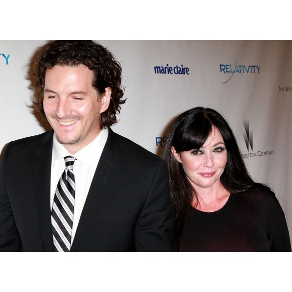 Shannen Doherty's husband is suing her managers.