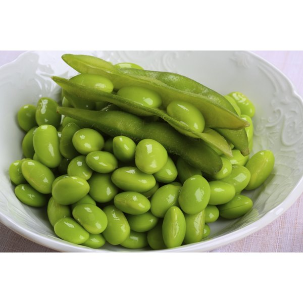 Edamame, immature soybeans, are high in protein and can be frozen in or out of the shell.