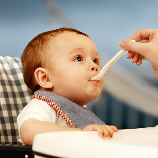 Adding salt to your baby's food is not healthy.