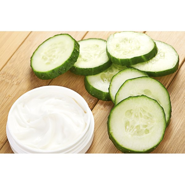 lotion made with cucumber for scars