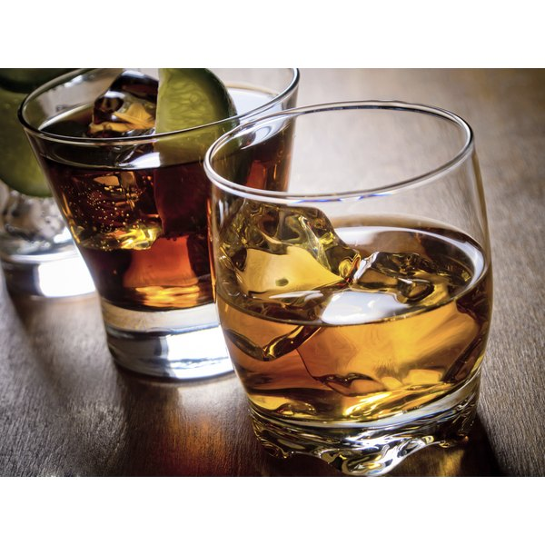 For the fullest taste, drink Crown and Coke before the ice dilutes the mix.