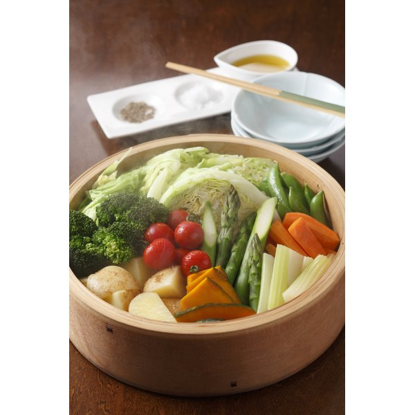 Steaming vegetables is one of the most effective cooking methods for retaining nutrients.