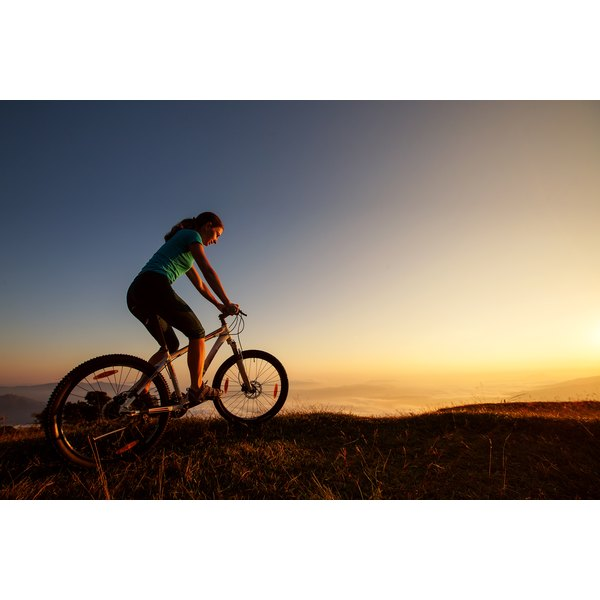 Cycling can cause pelvic pain for men and women.