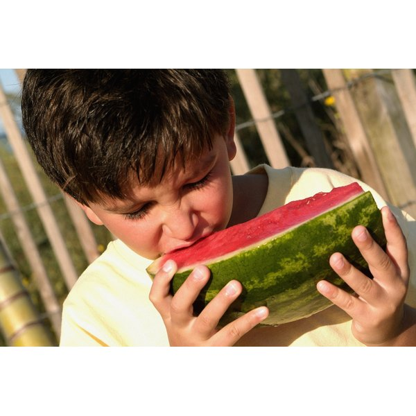 Kids generally like fruit such as watermelon.