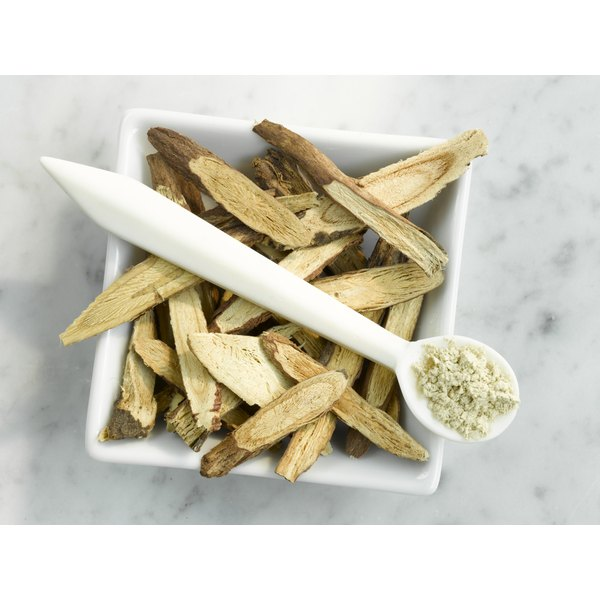Licorice Root has been shown to have antioxidant effects in laboratory studies.