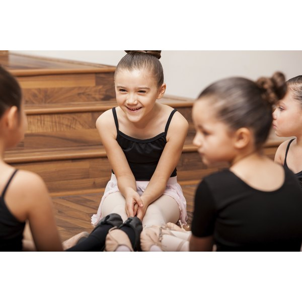 Girls who dance or do gymnastics can struggle with body image issues.