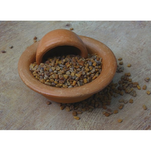 Glucomannins in fenugreek seeds may help to reduce fat absorption.